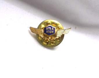 Air Line Lapel Pins Vintage Lot of 4