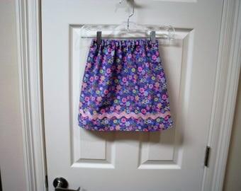 Little Girl's Purple Skirt size 5