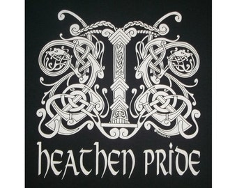 Heathen Pride Irminsul Viking T-Shirt WH