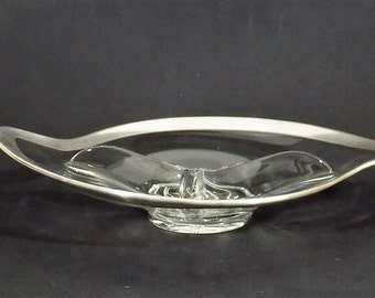 Mid Century Modern Divided Dish 50s 60s Appetizer