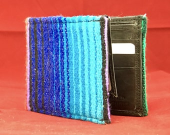 RARE SARAPE handcrafted wallet