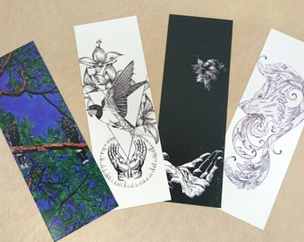 Bookmarks - set of four (Version One)