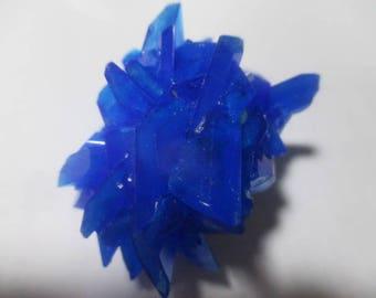 Chalcanthacite cluster - Throat Chakra'