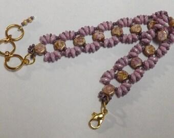 Lovely 'Lizzy Honeycomb Bracelet'