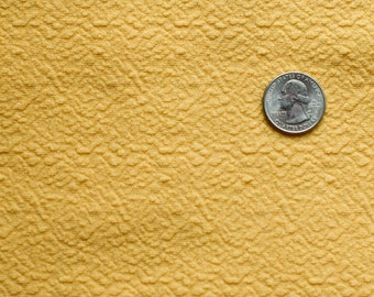 Vintage yellow knit fabric