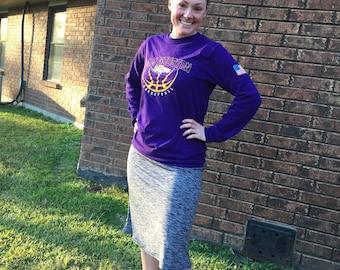 New Item /Athletic Skirt/Sports Skirt/ Skirt with attached Leggings/ Running Skirt/ Exercise Skirt/Bicycle Skirt