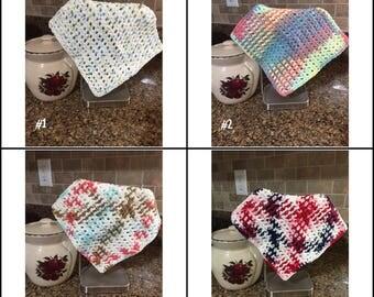 Dish Cloths, Wash Cloths, Crochet Dish Cloths, Crochet Wash Cloths, Kitchen Cloths, Bathroom Wash Cloths, Dishwashing Cloths