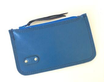 Elliot Coin/Card Pouch:  Royal Blue