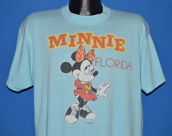 80s Minnie Mouse Florida t-shirt Extra Small