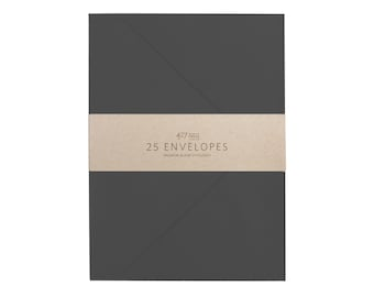 Envelopes - A7 Slate Grey