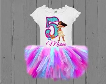Moana Tutu - Moana Birthday Tutu Set
