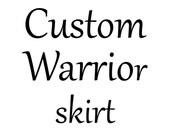 NIK - Custom Warrior skirt
