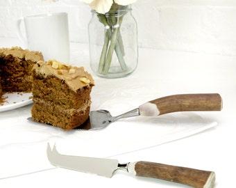 Antler Handle Cake Slice