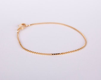 Fine Anklet Silver Chain Silver Plated