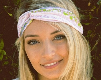 aztec print headband, foral headband, turban headband, womens headband, adult headband, valentines day gift, Gift For Her, turban headband