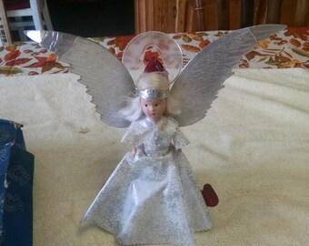 vintage noma tree top angel