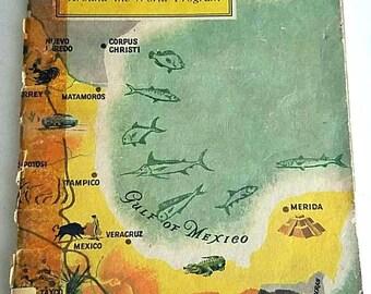 Vintage Travel Mexico Book