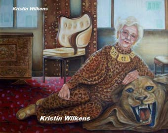 Cat Woman - Portrait of a Sassy Gram with a Cat Fetish