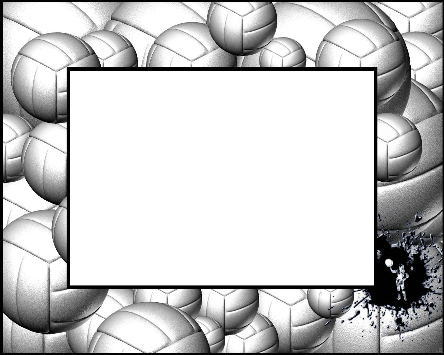 8x10 Volleyball Picture Frame
