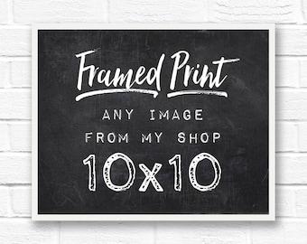 10x10 frame square frame framed print framed art framed photography framed quotes custom frame framed wall art 10x10 picture frame