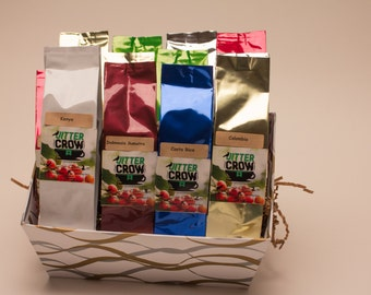 Cafe Del Mundo - Gourmet Coffees of the World.  Coffee Assortment.  Coffee Gift Box.
