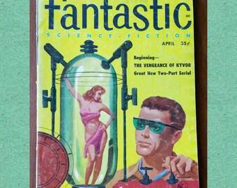 Fantastic science fiction mid century magazine.