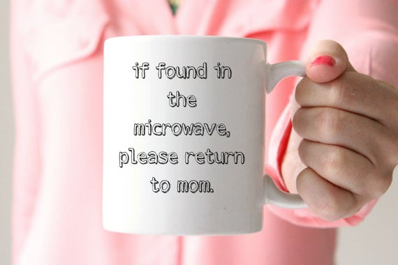 if found return to mom / coffee mug/ funny coffee mug/ morning mug/ coffee/ mom mug/ mom life/ coworker/ gift for her/ gift/mothers day/mom