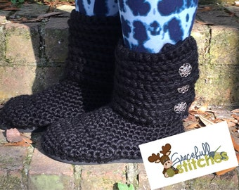 Sweater boots with Flip flop sole *** Ugg style boots ***