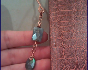 Labradorite Copper Bookmark LB102