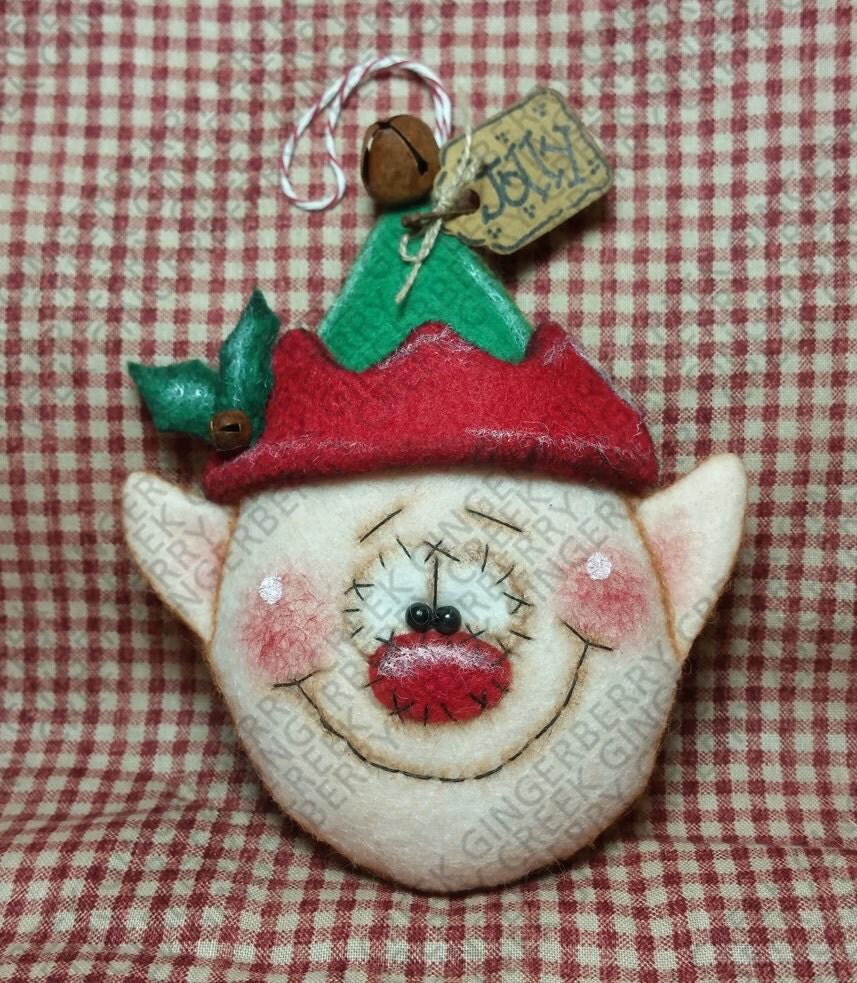 e pattern happy helper elf ornament pattern 246