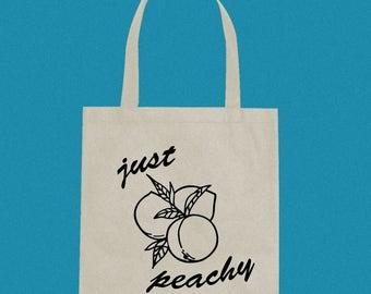 just peachy tote