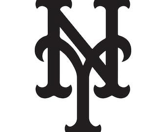 New York Mets Vinyl Sticker