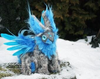 Faerie Bunny Poseable Art Doll