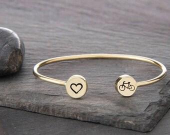 Bike Gift, Bicycle Gifts, Bicycle Bracelet, Bicycle, Biking Gift, Biker Gift, Gift For Cyclists, Cyclist, Cycling Gift, Cycling Gifts, b249B