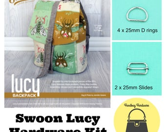 SWOON Lucy Backpack – Hardware Kit