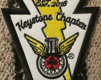 Antique Motorcycle Club of America Keystone Chapter Patch