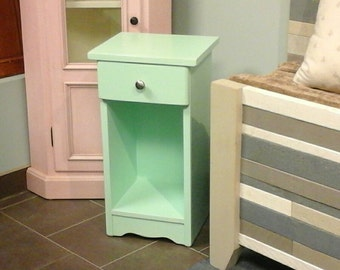 Bedside Table / Shabby  Chic Night Table / Lamp Stand