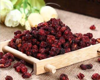 Schisandra Berry Dried Organic Wu Wei Zi  Chinensis Schizandra  Wild Berries Tonic Fruit 4 oz Herbs
