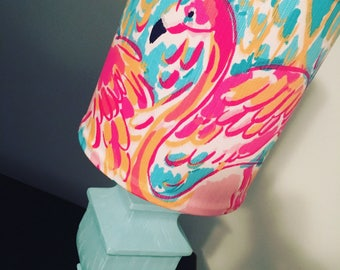 Lilly Pulitzer Peel and Eat Lamp shade ONLY!