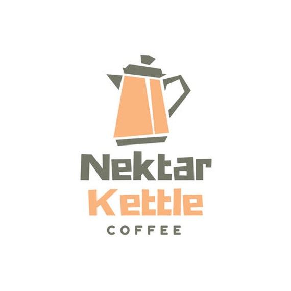 Quirky Logo I Coffee Logo I Premade Logo I Custom Logo I Logo Design I Branding Logo