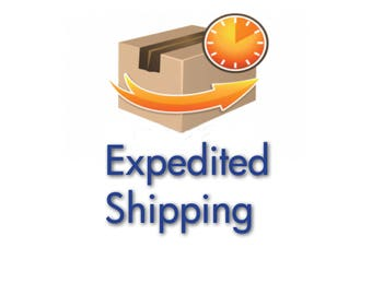 Expedited Shipping- Within USA Only