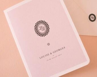 Wedding invitation Collection numero 07