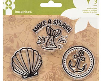 Imaginisce Mermaid Stamps
