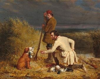 "William Tylee Ranney : ""The Retrieve"" (1850) - Giclee Fine Art Print"