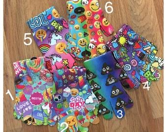 Emoji Children Gloves