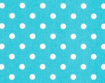 Wholesale fabric yardage Coastal Blue Polka dot home decor drapery pillows upholstery Premier Prints  by the Bolt, 27 yards!