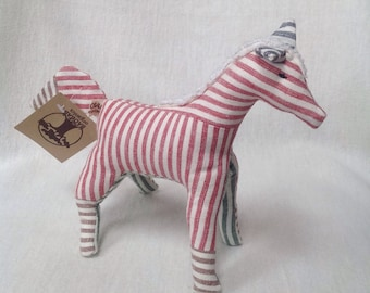 Baby toy organic horse