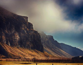 Epic Landscapes | Seljalandsfoss | Iceland | Home Decor | Wall Art | Fine Art Photography | Print | Matted