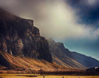 Epic Landscapes | Seljalandsfoss | Iceland | Home Decor | Wall Art | Fine Art Photography | Print | Matted