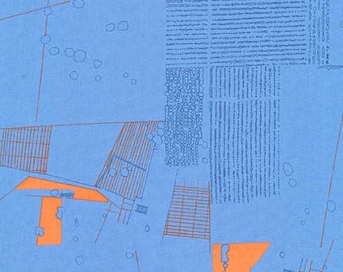Aerial in Blue Jay- Friedlander by Carolyn Friedlander for Robert Kaufman